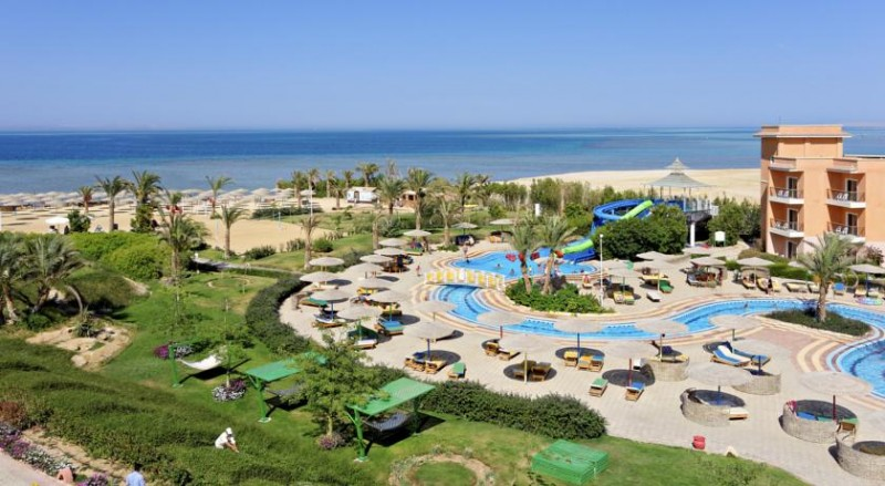 The Three Corners SUNNY BEACH RESORT 4*, Hurgada!
